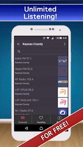 📻 Lithuania Radio FM AM Live! screenshot 0