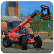 excavator, Tractor, Forklift Farming Simulator