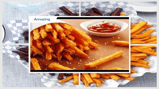 Tasty Oven-Baked Sweet Potato Fries - náhled