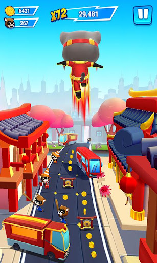 Talking Tom Hero Dash - Run Game screenshot 5