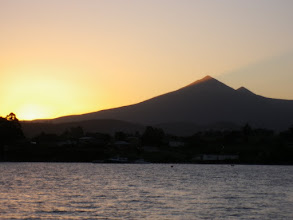Photo: Sunset behind Adamson's Peak, Port Esperance