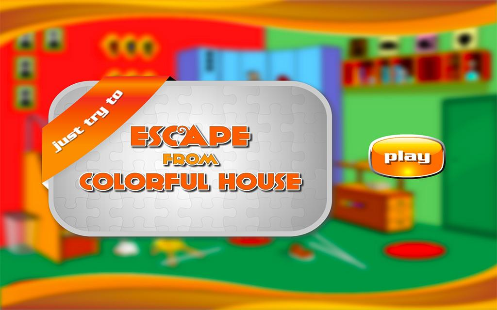 Escape From Colorful House- screenshot