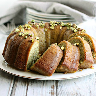 Cardamom Spiced Pistachio Cake Recipes.