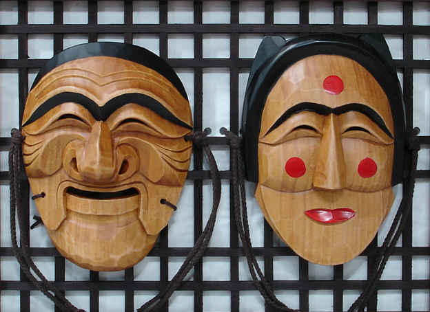 Smile-Korean-traditional-male-female-mask