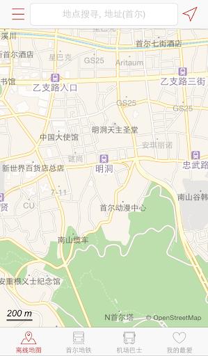 我在哪儿-韩国地图 韩国地铁 韩国旅游