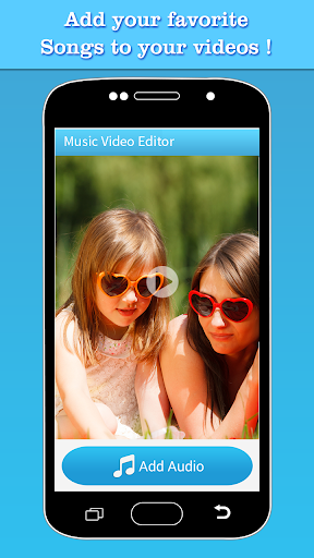 Music Video Editor Add Audio 1.43 screenshots 2