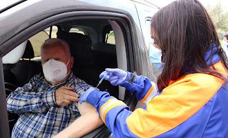 Los almerienses continúan su vacunación