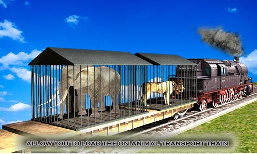 动物运输火车