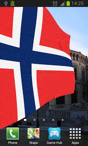 Norway Flag Live Wallpaper