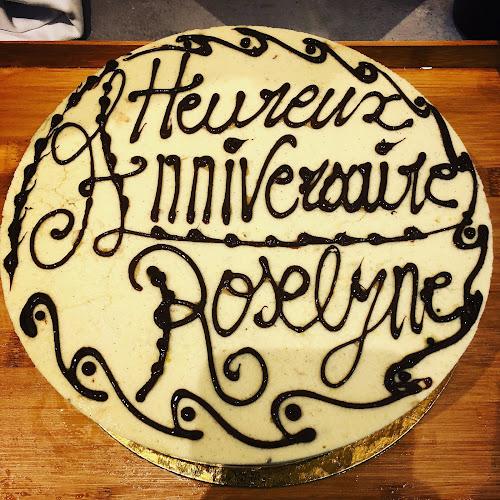 Gateau d'anniversaire du restaurant à Pontoise L'arbre Blanc
