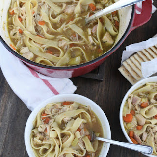 Homestyle Chicken Noodle Soup.