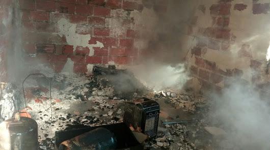 Cinco incendios en viviendas en solo cuatro días
