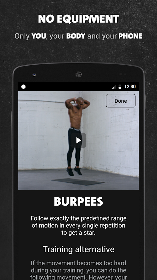 Freeletics Bodyweight- screenshot