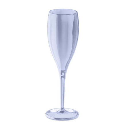 CHEERS NO. 1 Champagneglas 4p, aquamarine