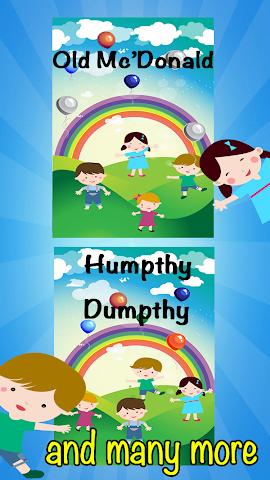 android English Nursery Rhymes For Kid Screenshot 2