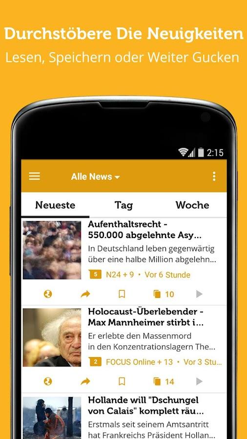 nachrichten app android deutsch