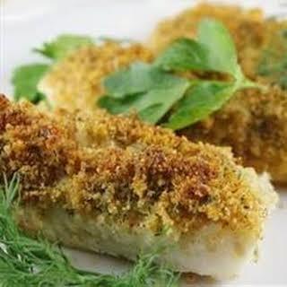 Cod with Italian Crumb Topping.