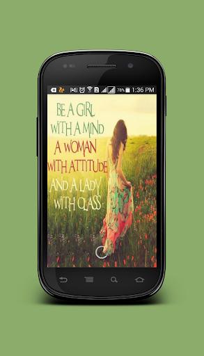 Girl Attitude Quotes