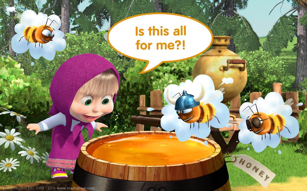 Masha and the Bear Child Games screenshot 13
