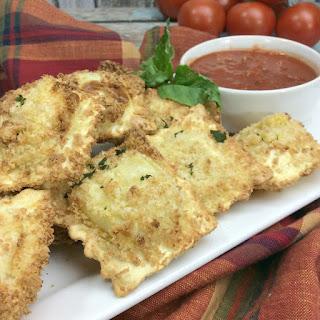 Air Fryer Fried Ravioli.