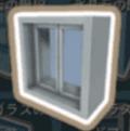 強化ガラスのハッチ