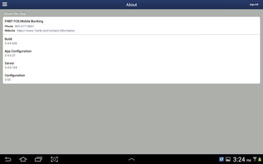 FNBT & FCB Mobile for Tablet Lietotnes (APK) bezmaksas lejupielādēt Android/PC/Windows screenshot
