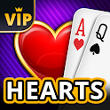 Hearts Offline - Single Player Card Game icon