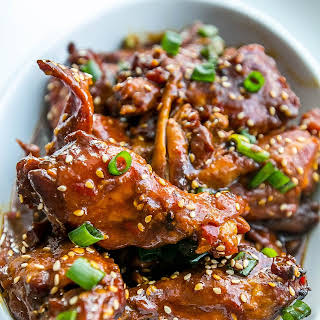 Slow Cooker Honey Soy Chicken Wings.