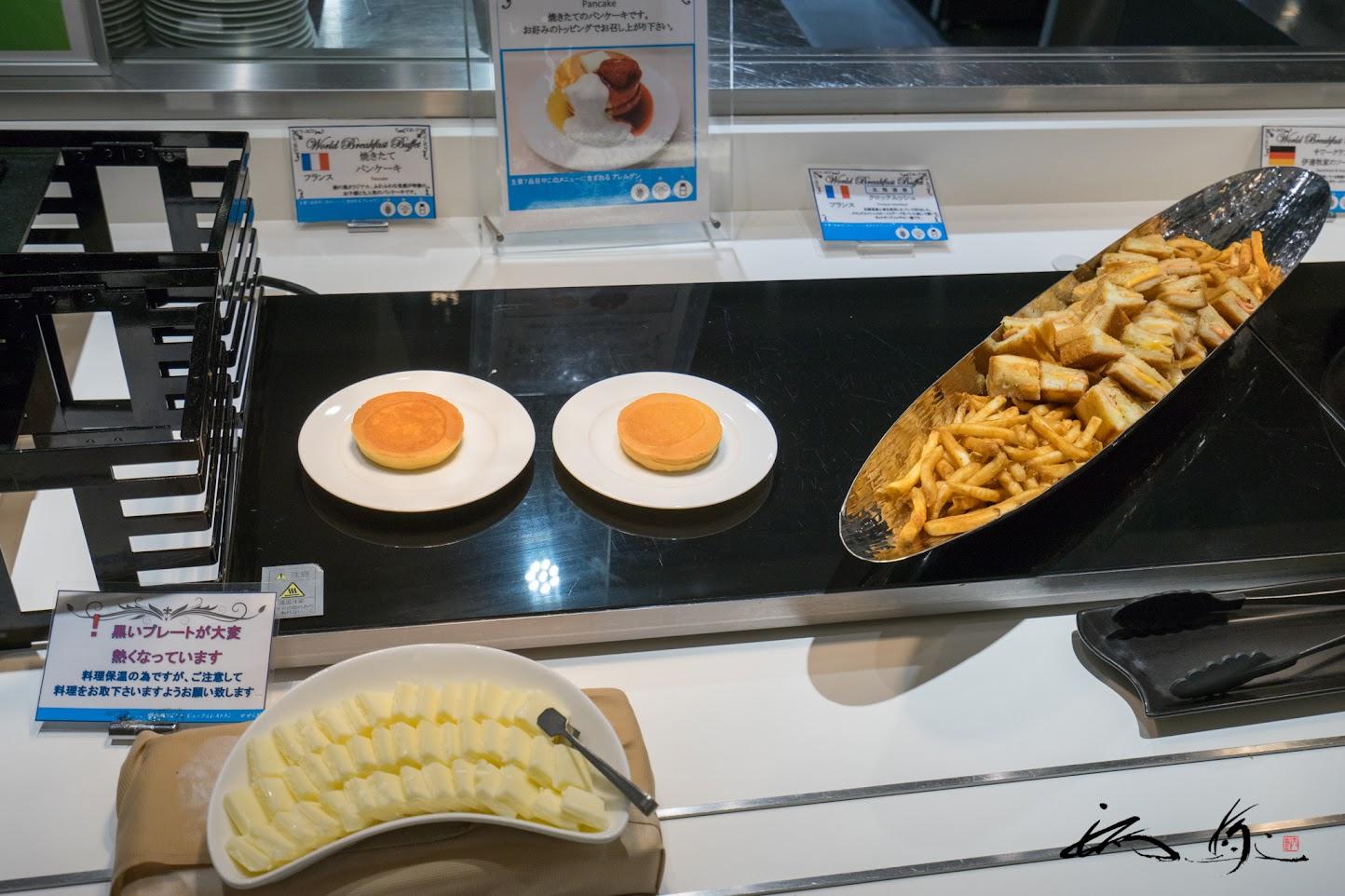 焼きたてパンケーキ(フランス)、クロックムッシュ(フランス)