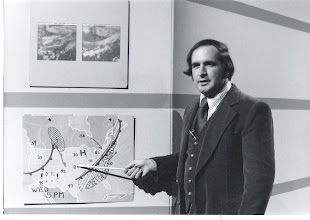 Photo: AccuWeather`s Elliot Abrams does the weather on Penn State`s Weather World program in the 1980s. More information about AccuWeather`s 50th Anniversary here: http://TinyURL.com/Accu50th