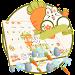 Da Ji Tu Cute Rabbit Gravity Keyboard Theme icon