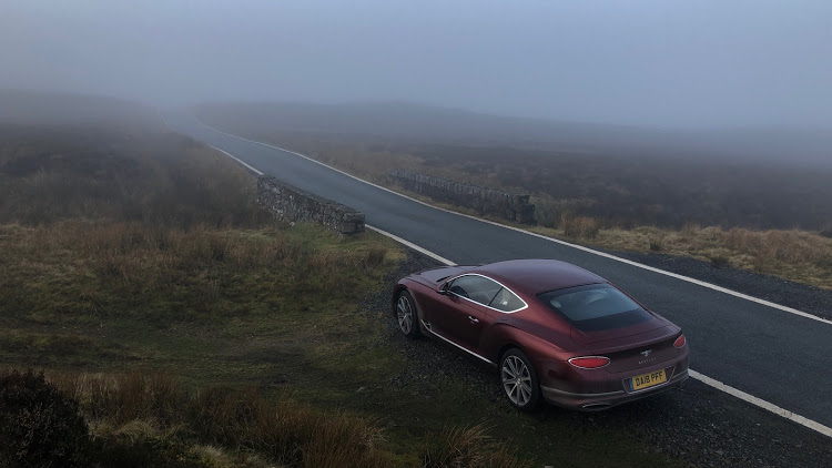 Even on misty, narrow Welsh roads, the GT relished the drive.