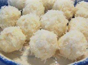 No Bake Tropical Snowballs Recipe
