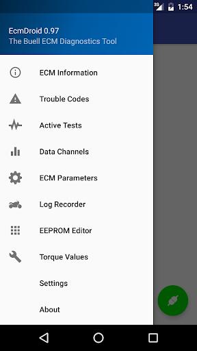 EcmDroid 0.99 screenshots 2