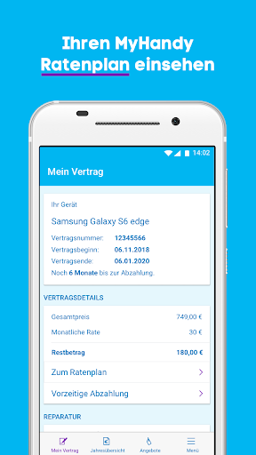Mein Blau screenshot 6