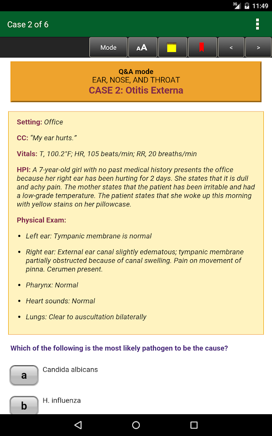Pediatrics CCS USMLE Step 3- screenshot