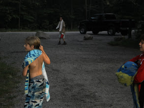 Photo: After swimming, what is more logical for boys than
