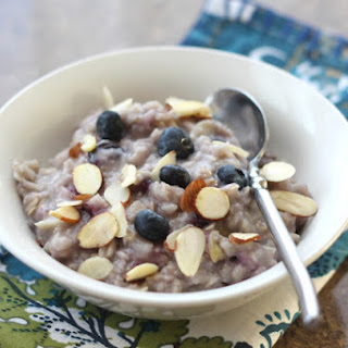 Almond Blueberry Oatmeal Recipes