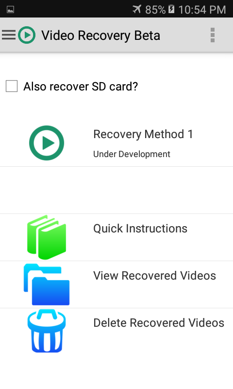 video recovery pro apk download