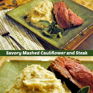 Savory Mashed Cauliflower with Fresh Sage