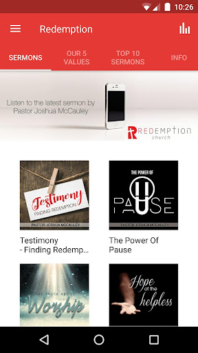 Redemption Church South Africa screenshot 1
