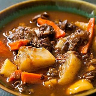 CrockPot Lamb Shank Stew Recipe