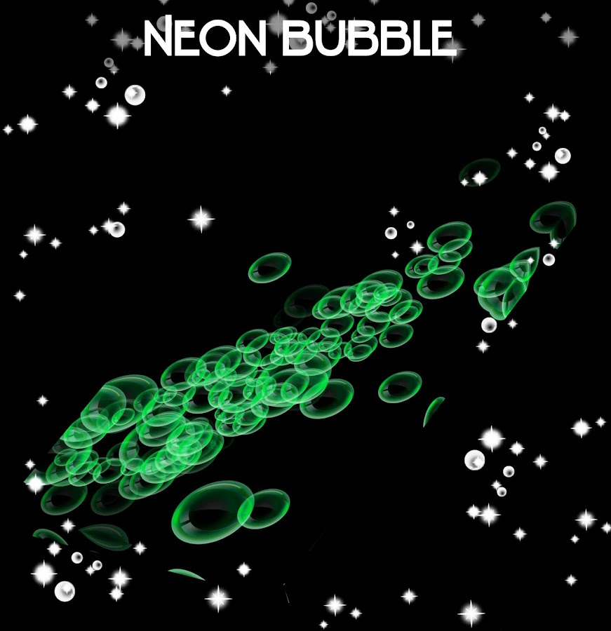 neon bubble live wallpaper android apps on google play