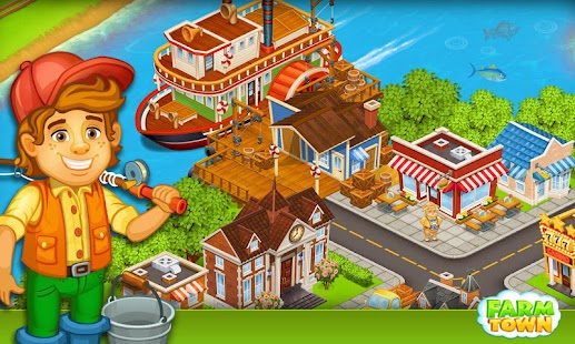 Farm Town:Happy City Day Story- screenshot thumbnail