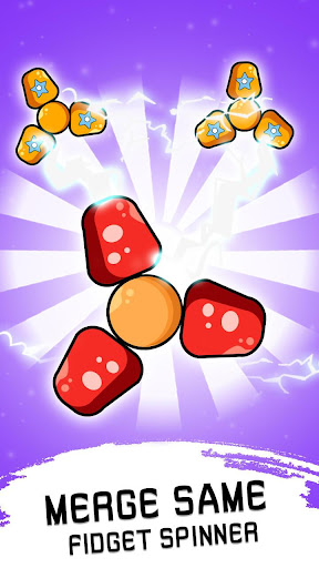 Code Triche Fidget Spinner Evolution - Merge & Collect Fidget apk mod screenshots 1