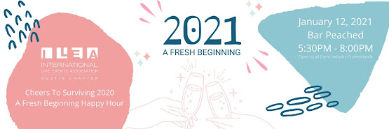 **POSTPONED** ILEA Austin Happy Hour - Cheers to surviving 2020 - A fresh beginning happy hour