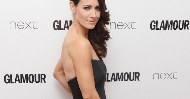 Kirsty Gallacher only drinks water