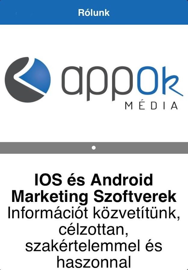 Appok Média- screenshot