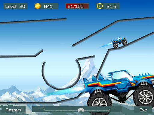 Monster Stunts -- monster truck stunt racing game screenshots 8