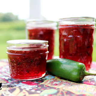 Strawberry Jalapeño Jam.